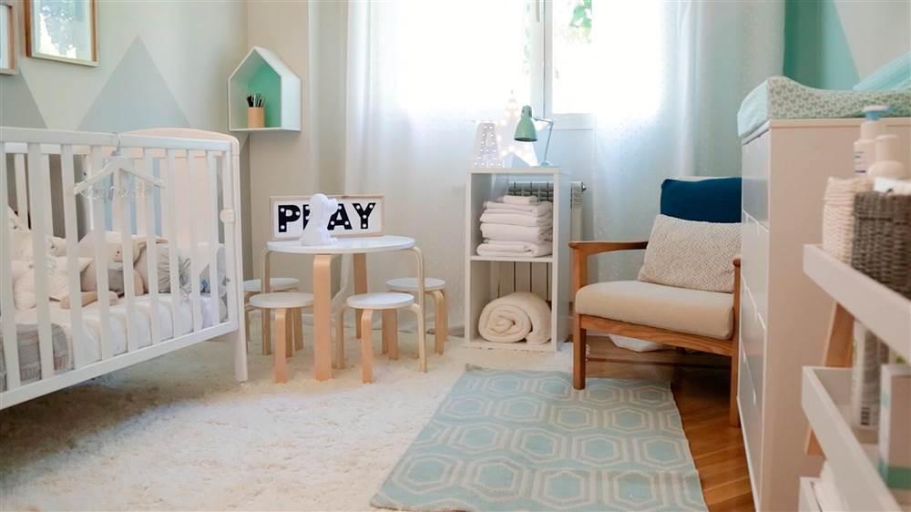 Los básicos para el cuarto del bebé