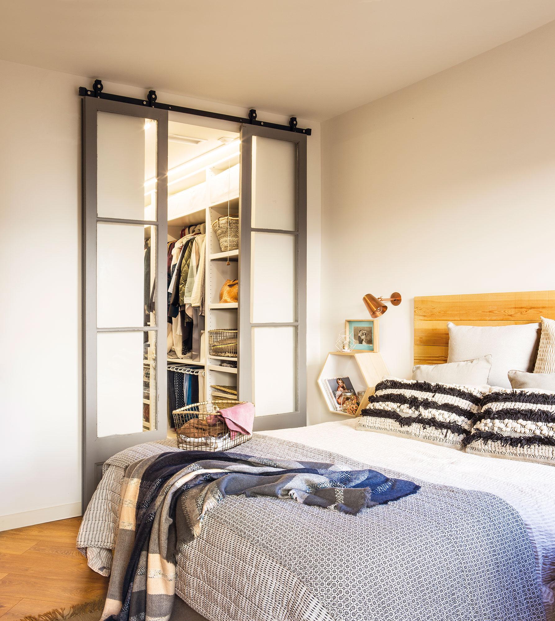 Puertas de granero de moda en decoraci n for Construir puerta corredera