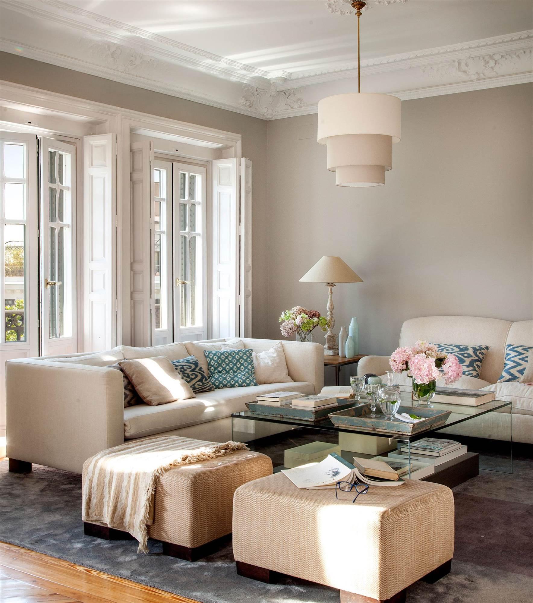 Salones con piedra decorativa paredes de piedra en un - Salones decorados con piedra ...