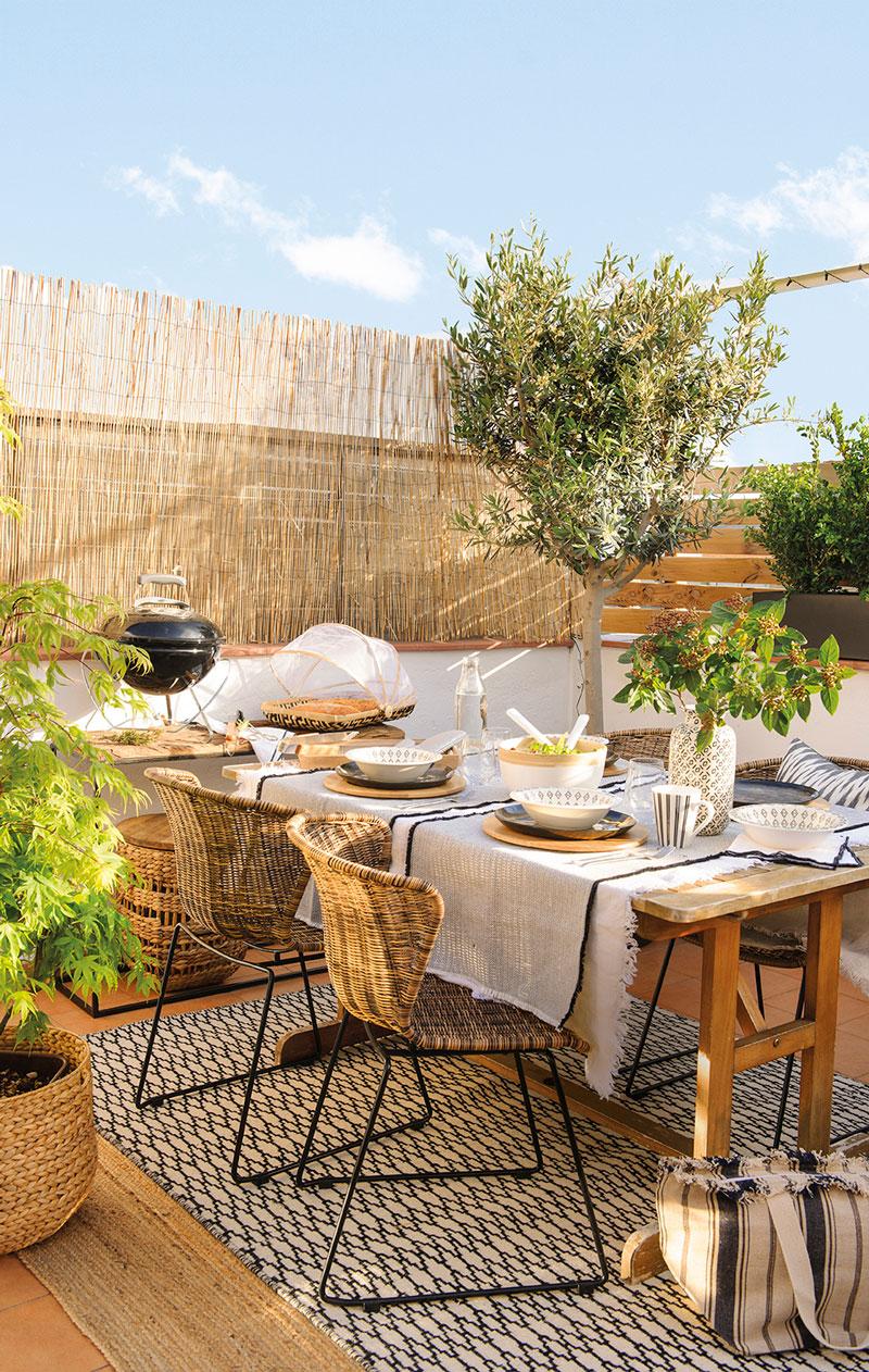 Terrazas muebles mesas e ideas para tu terraza el mueble for El mueble terrazas
