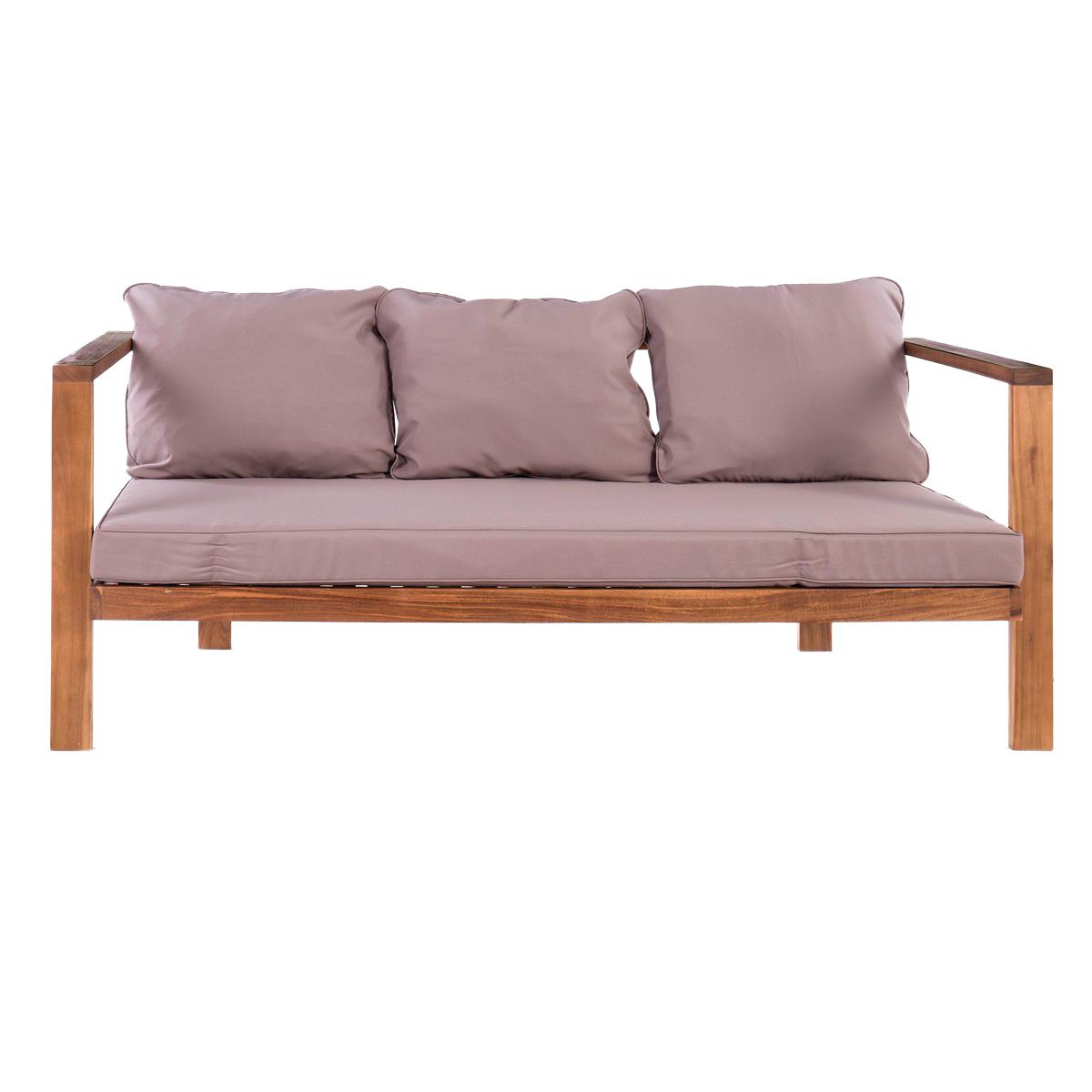 Muebles y complementos para disfrutar del exterior for Sofa exterior leroy