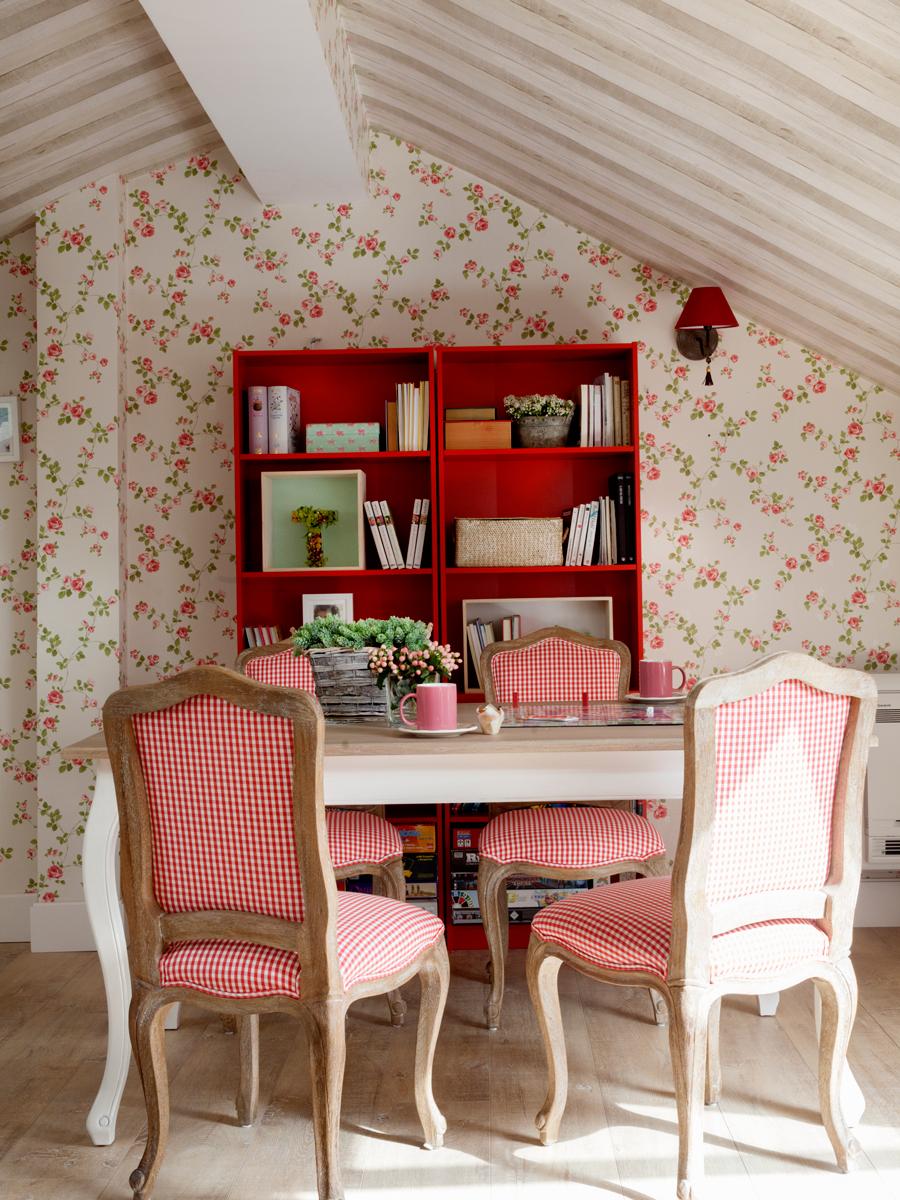 decorar con estampados a cuadros. Black Bedroom Furniture Sets. Home Design Ideas