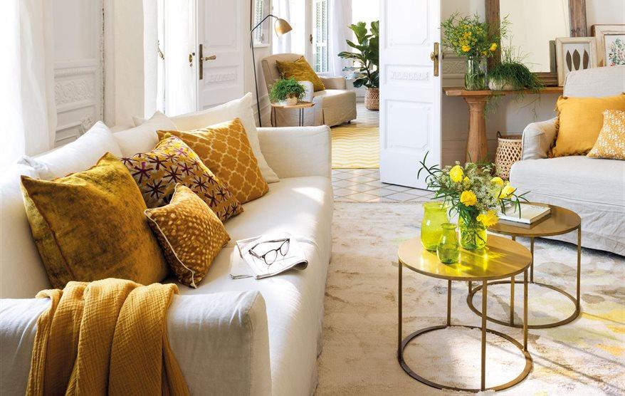 El mueble revista de decoraci n for Mesas de centro pequenas