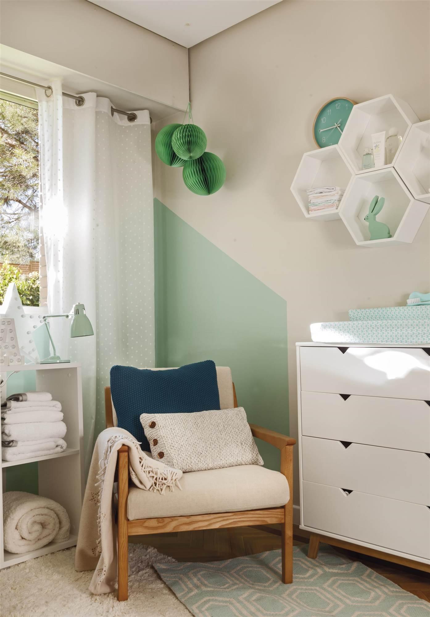 Butacas para dormitorio dormitorio infantil con cuna cambiador y butaca de fibras with butacas - Butacas para dormitorios ...
