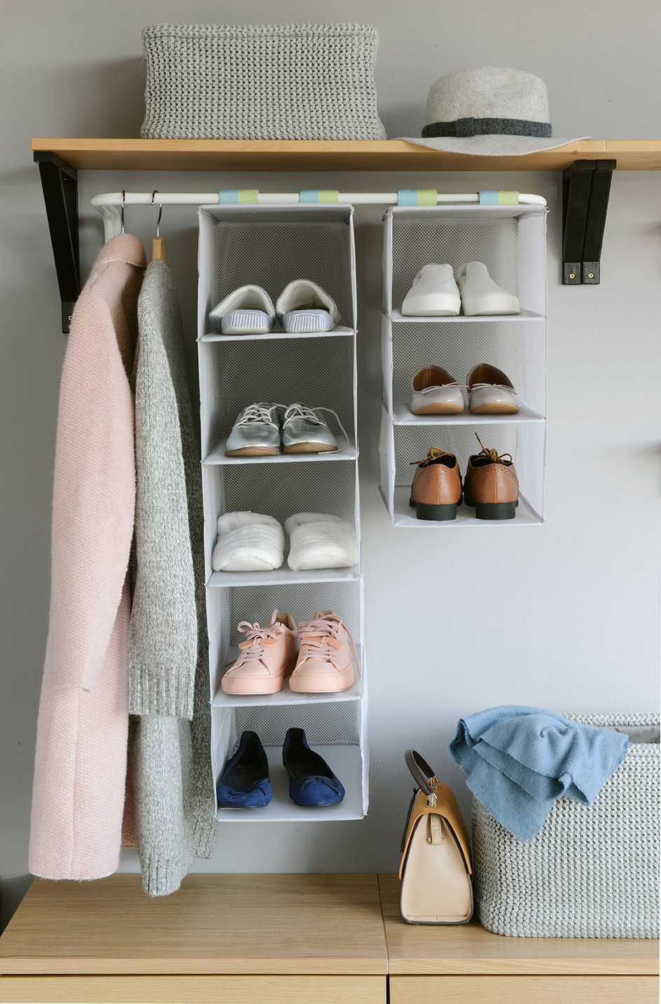 Aprende a guardar bien tus zapatos