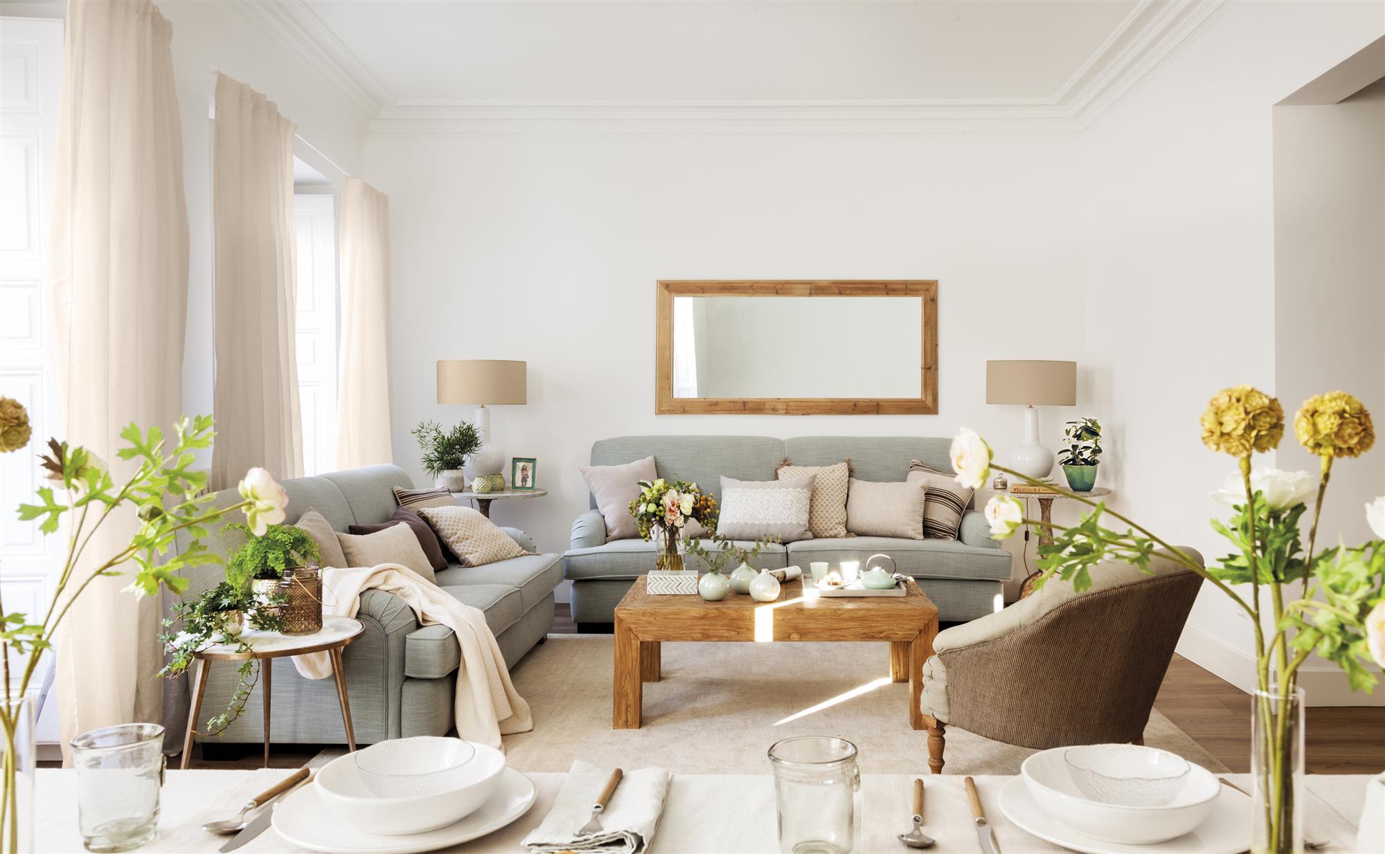 Un piso en madrid con un estilo n rdico muy suave for Fronda decoracion