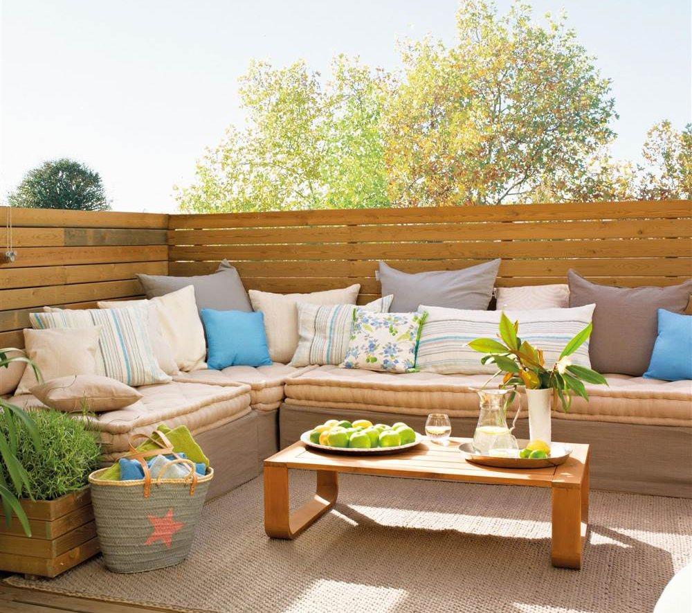 Crear un rinc n chill out en casa for Modelos de jardines exteriores