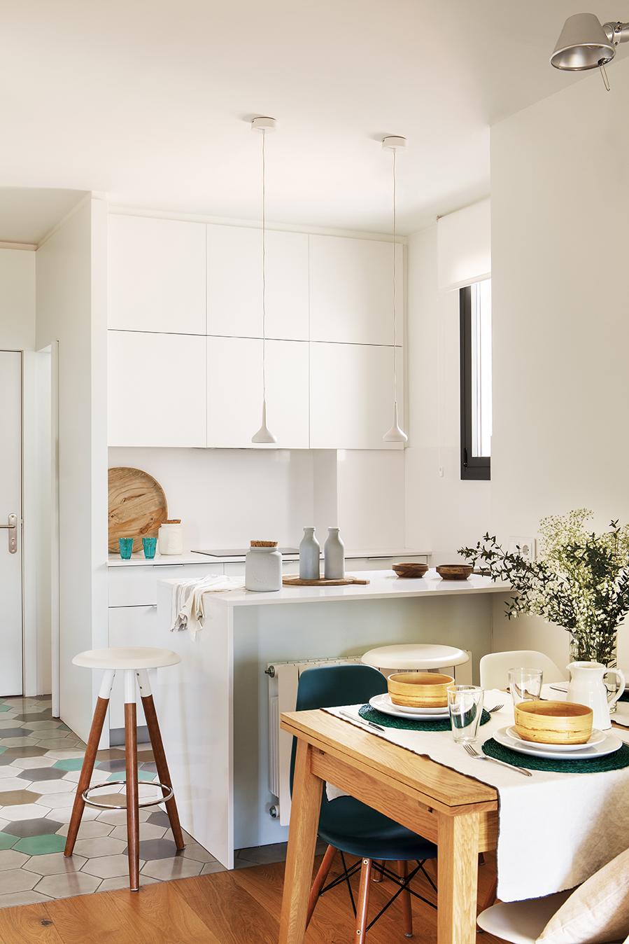 Ideas para aprovechar una cocina peque a - Precio medio de una cocina ...