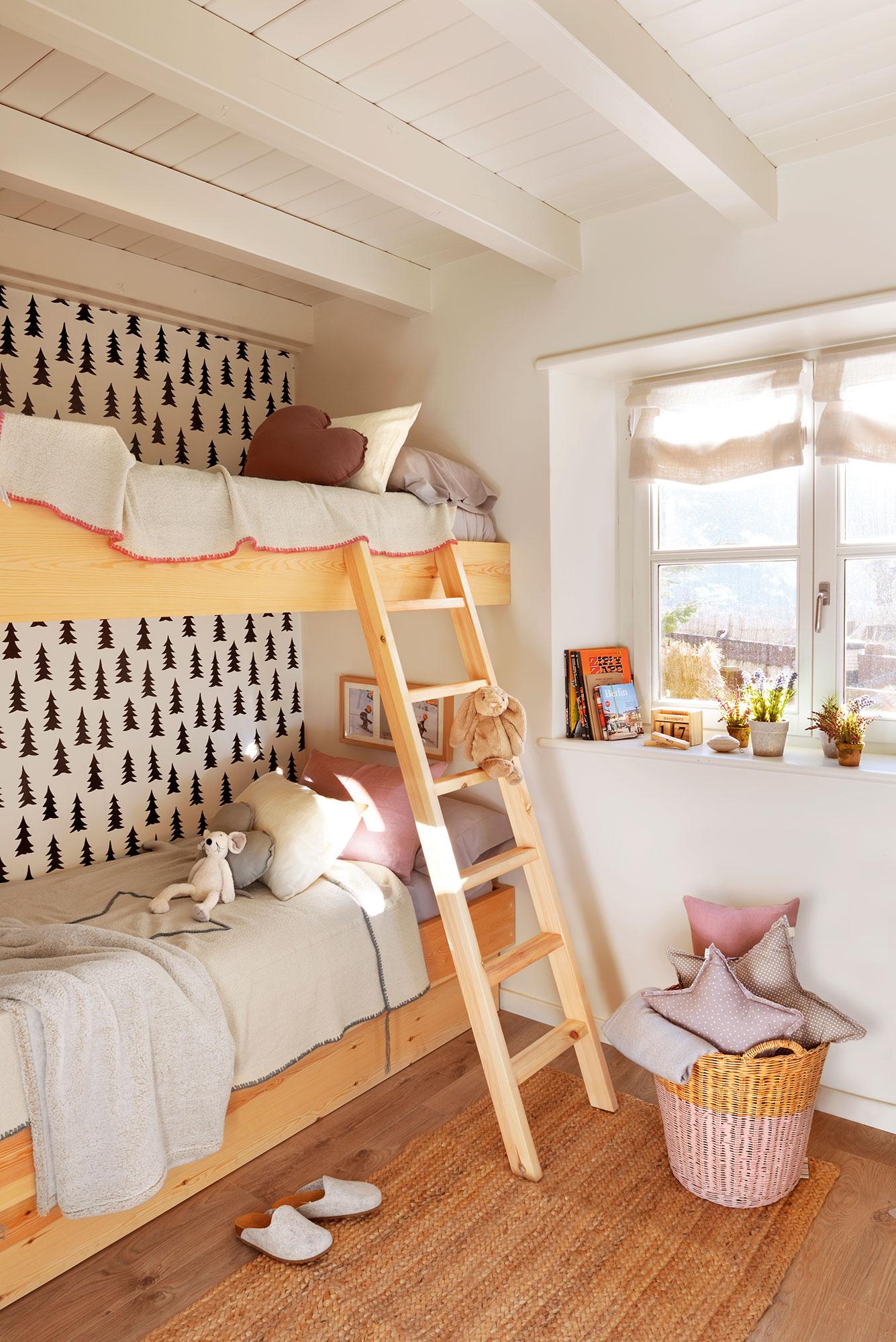 Decora La Habitación Infantil Con Papel Pintado