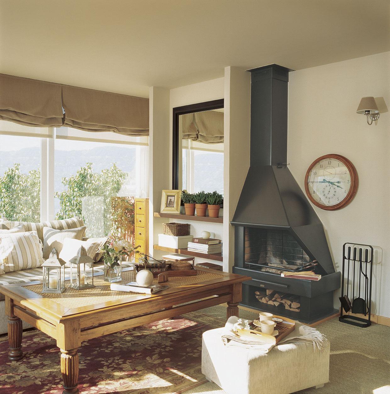 Poner chimenea en un piso awesome simple se puede instalar una estufa de pellet en un piso with - Se puede poner una chimenea de pellets en un piso ...
