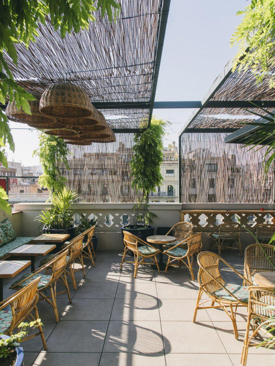 Terrazas de hotel en barcelona para disfrutar del verano for Terraza dela casa