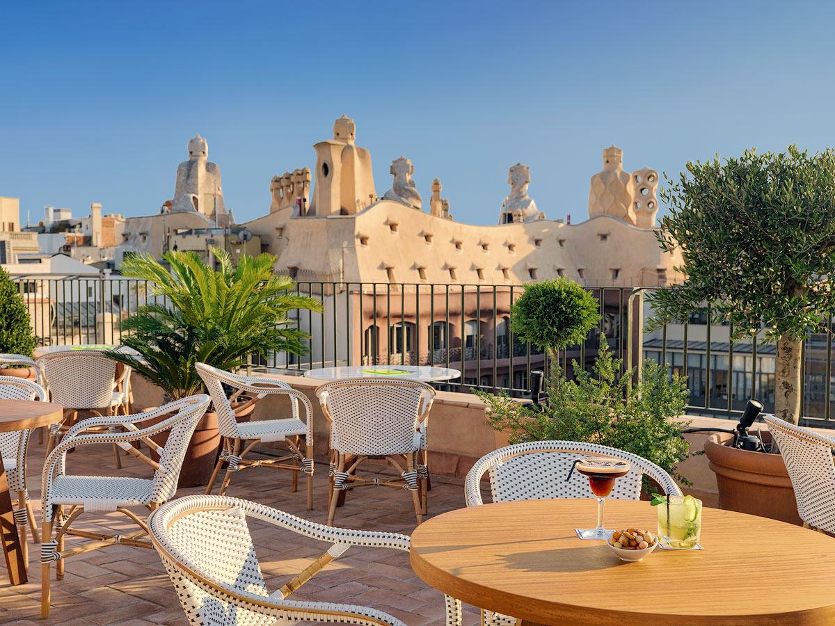 Terrazas de hotel en barcelona para disfrutar del verano - Natura casa barcelona ...
