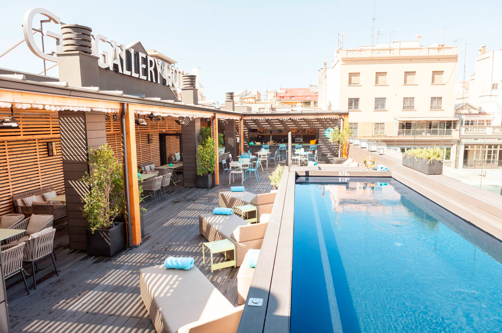 Terraza The Top en el Gallery Hotel de Barcelona