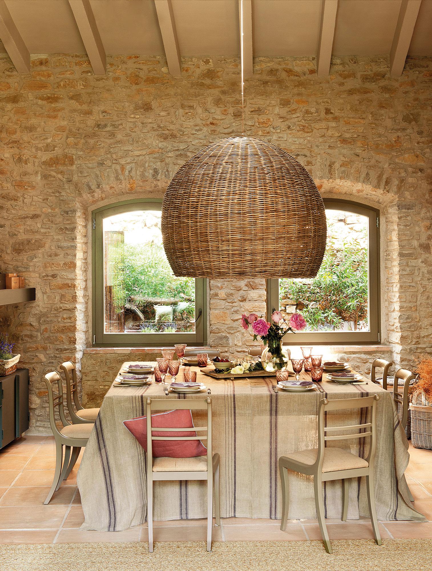 Los 50 mejores comedores de el mueble - Muebles de piedra ...