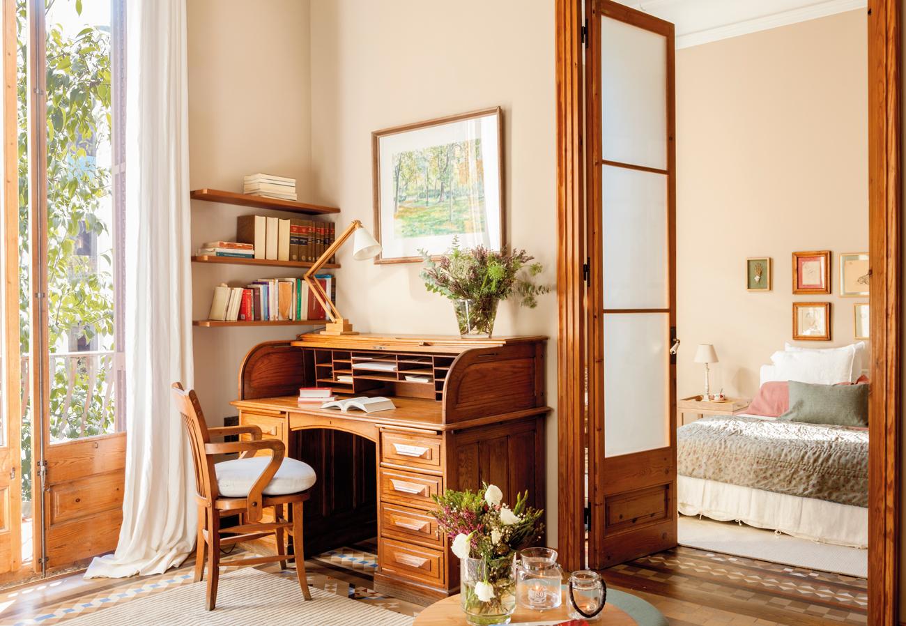 Decora tu dormitorio con estilo vintage - Muebles estilo antiguo ...