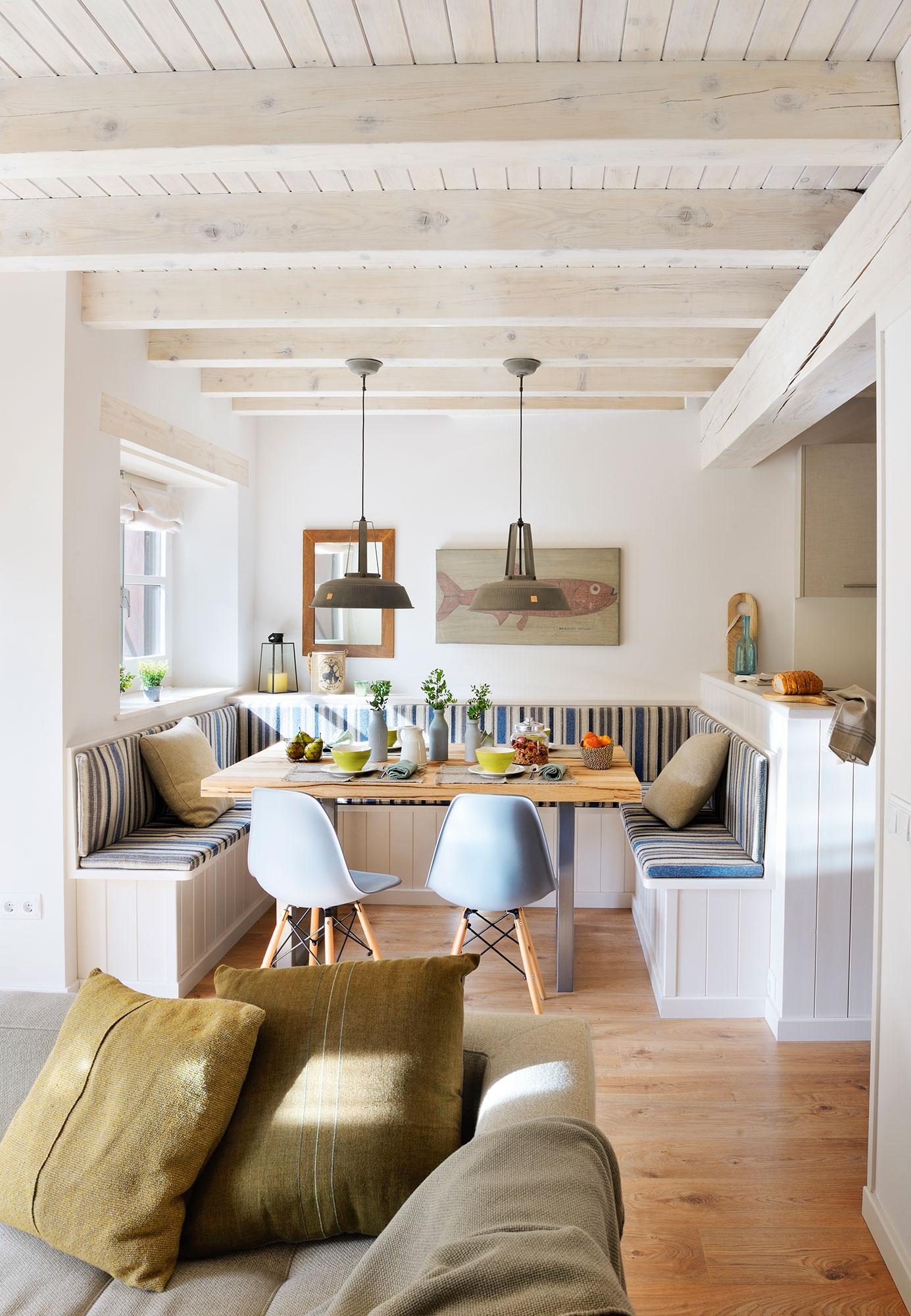 Los 50 mejores comedores de el mueble for Cocinas y salones abiertos
