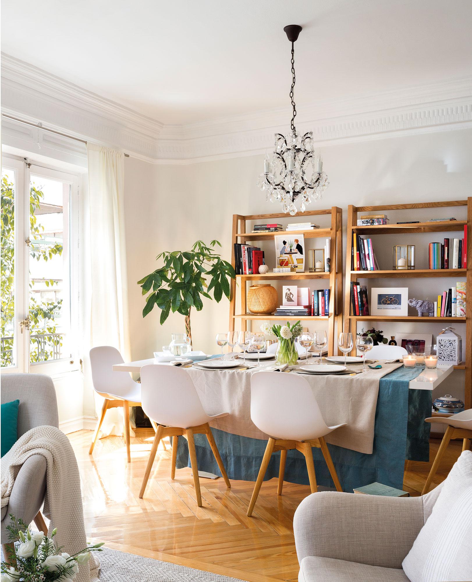 Los 50 mejores comedores de el mueble - Fotos de salon comedor ...