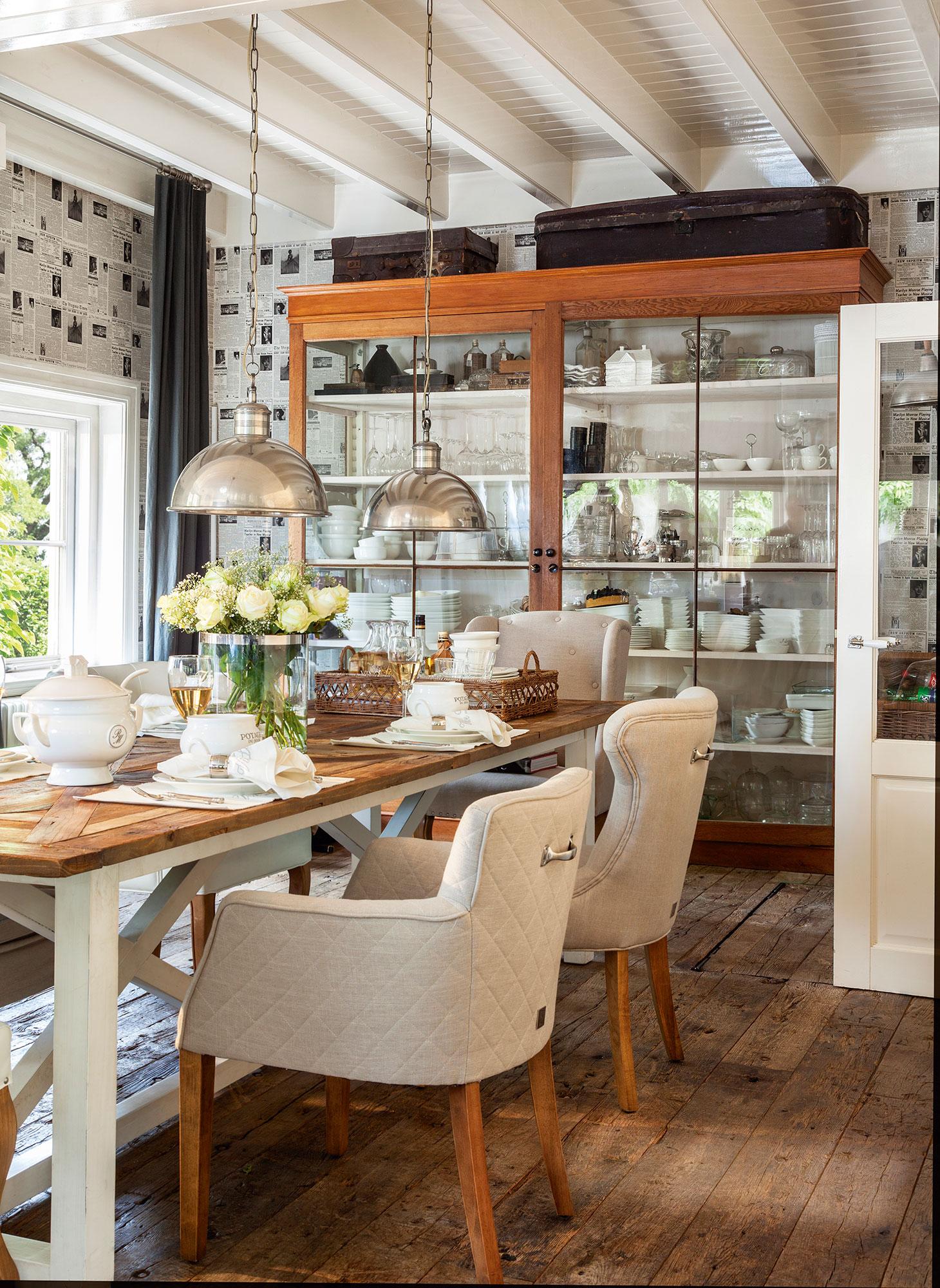 Comedores los 50 mejores de el mueble - Disenos de comedores de madera ...