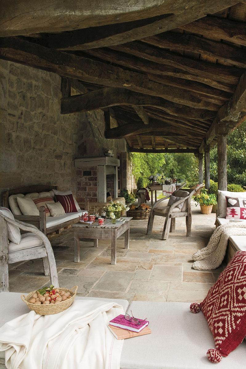 Una casa r stica en cantabria - Casas con porche ...