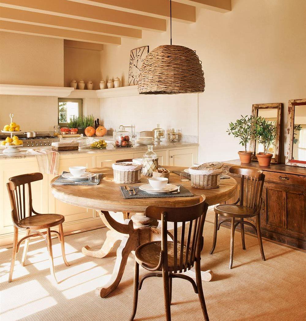 Los 50 mejores comedores de el mueble - Comedores mesa redonda ...