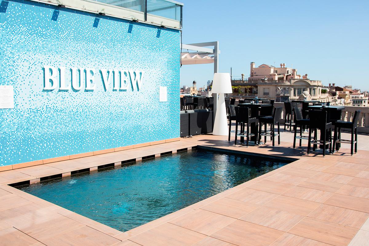 Terrazas de hotel en barcelona para disfrutar del verano - Hotel casa fuster terraza ...