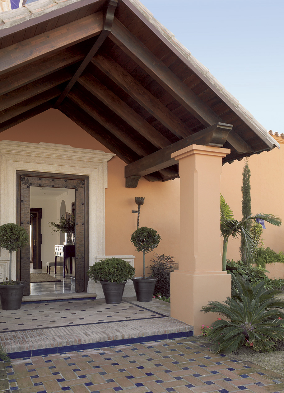 Una casa decorada mezclando estilos - Entradas de casas ...