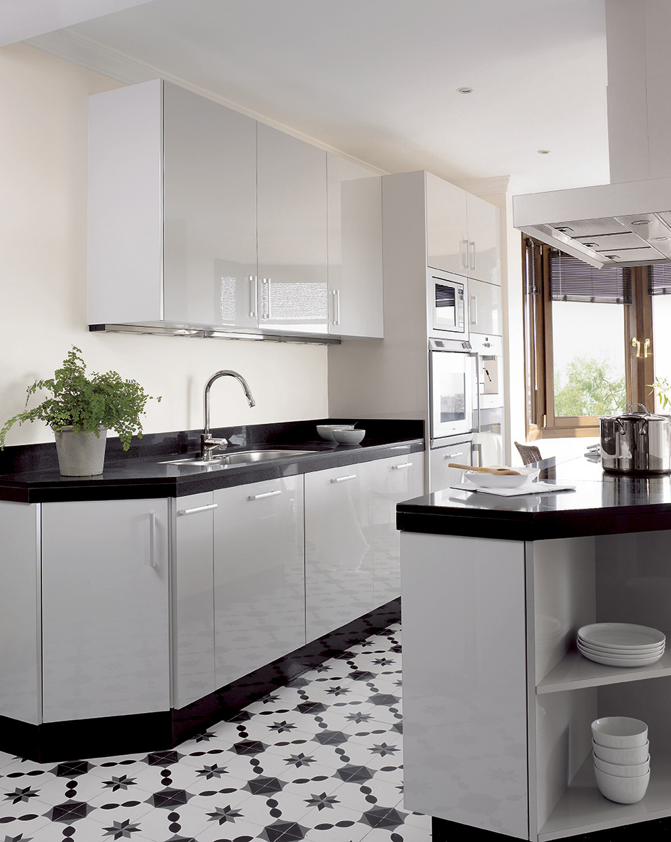 Kitchen Suelo Granito Negro Modern House