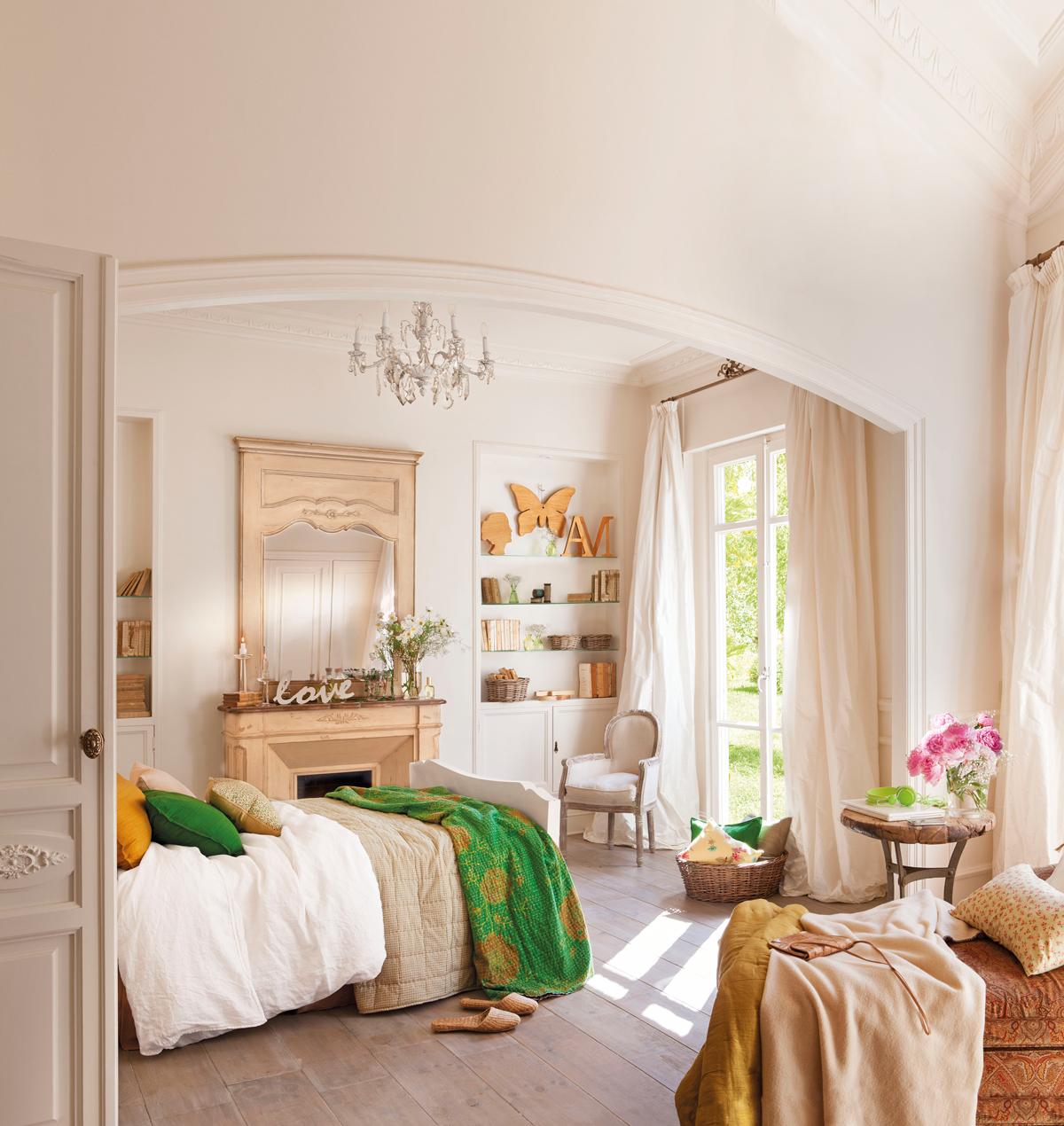 Decora tu dormitorio con estilo vintage for Color del dormitorio de los padres