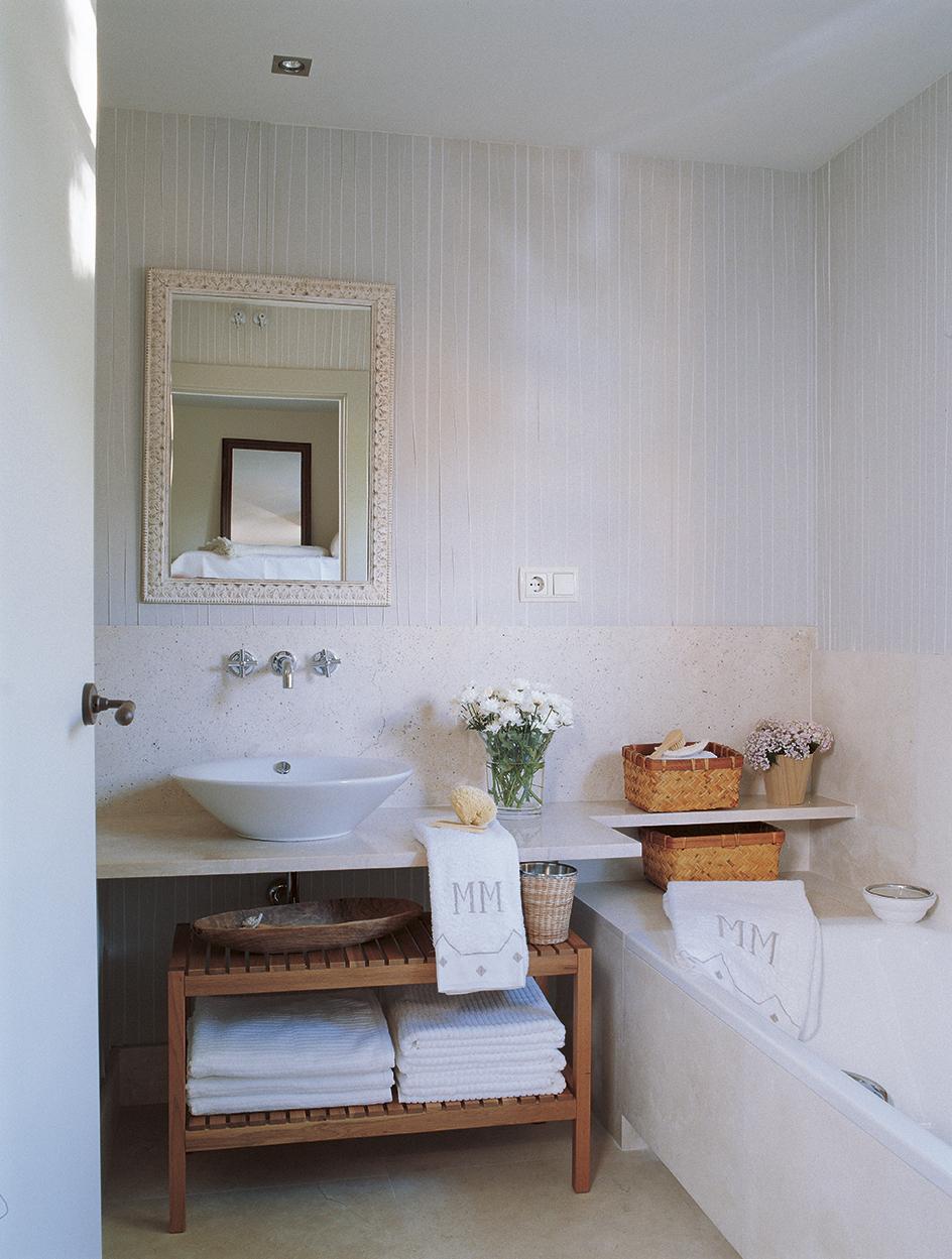 Muebles ba o decoraci n accesorios mamparas y azulejos - Banos con encimera ...