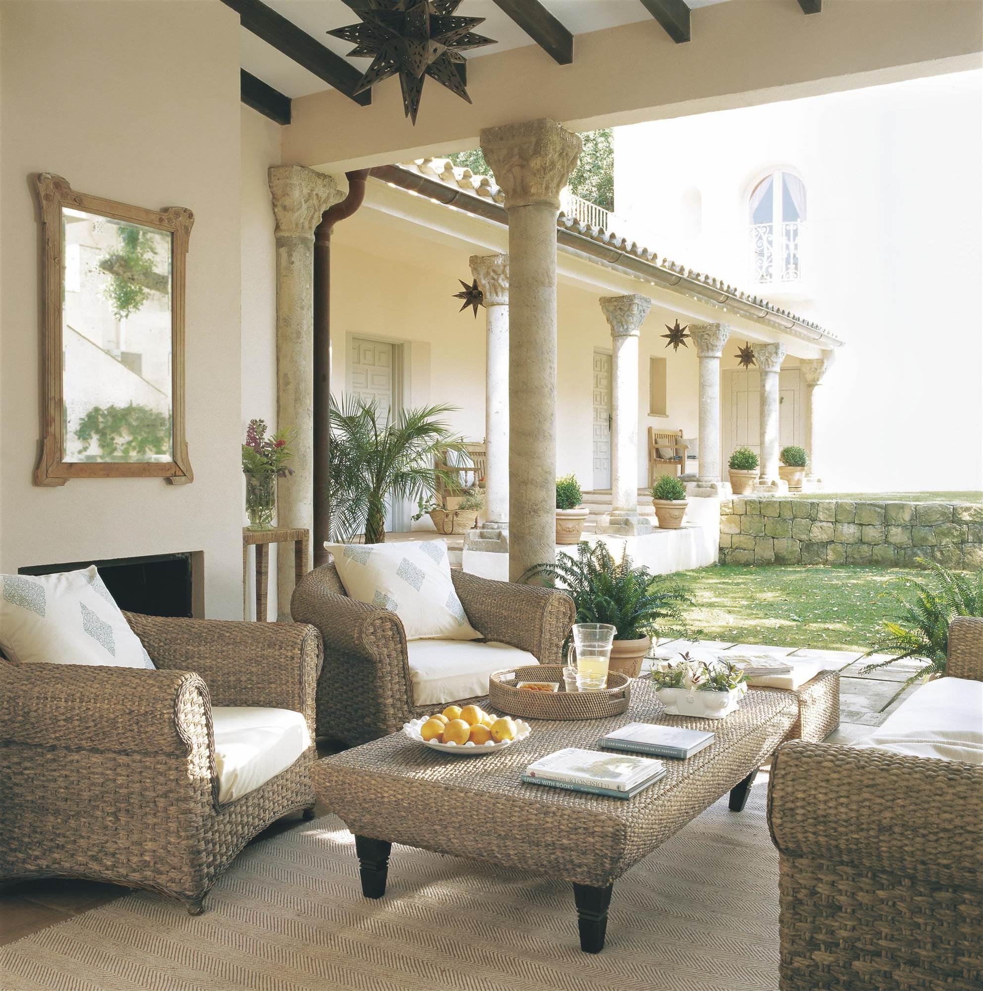 Muebles para el exterior para el porche muebles de for Muebles porche