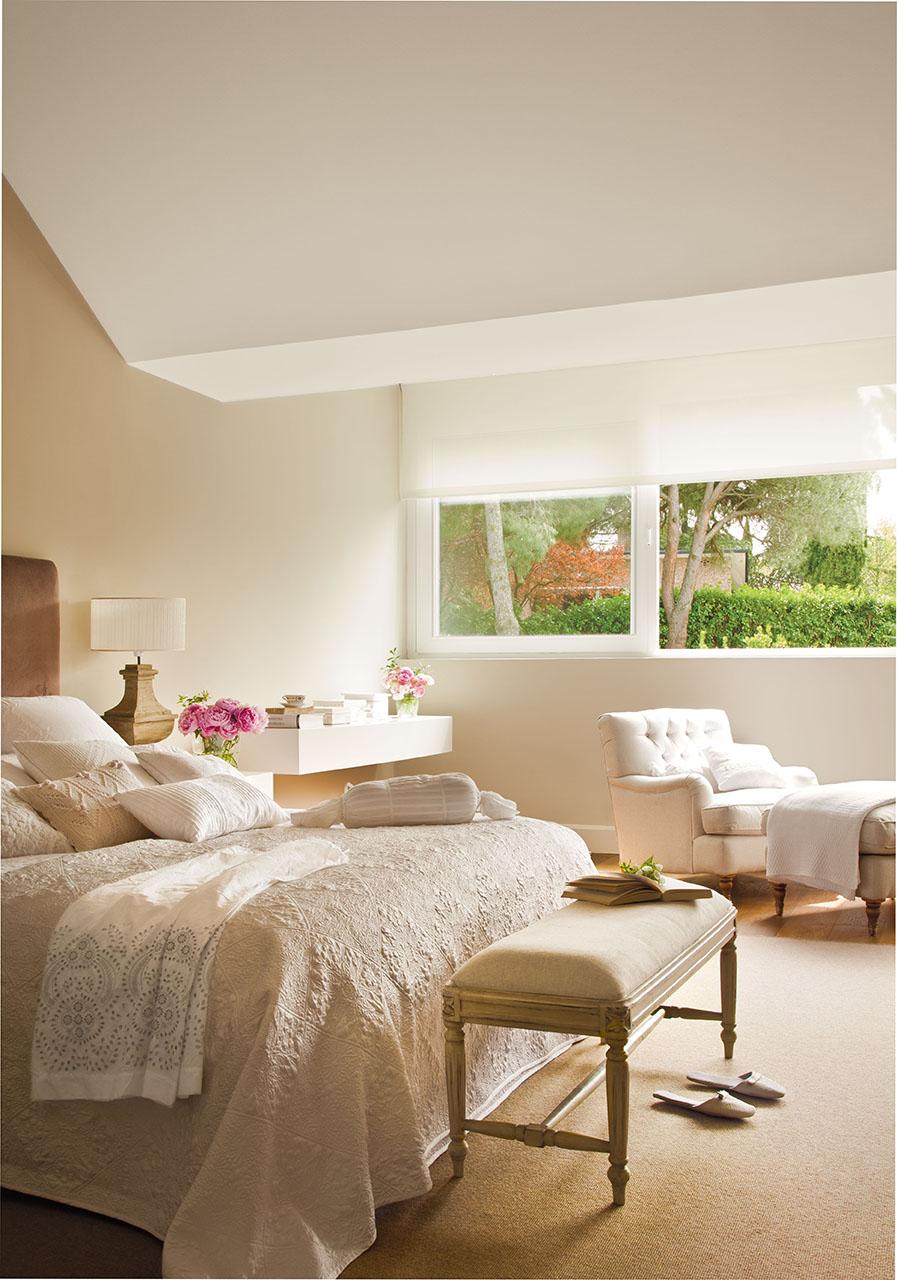 Una casa con una decoraci n muy equilibrada - Decorar habitacion principal ...