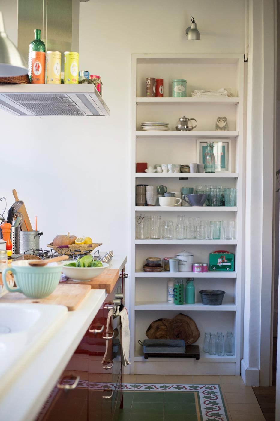 Armario alacena de cocina con estantes449784 O