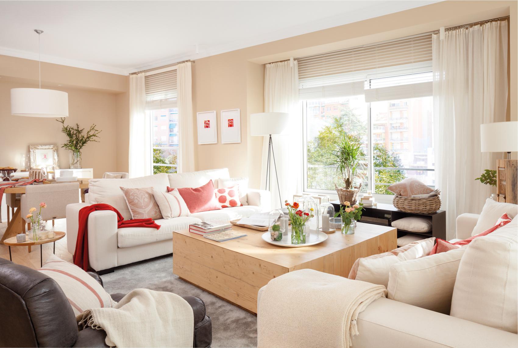 Ideas para decorar espacios peque os y ganar espacio - Sofa para salon ...