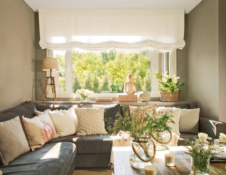 Ideas para decorar espacios peque os y ganar espacio - Como decorar un salon en forma de l ...