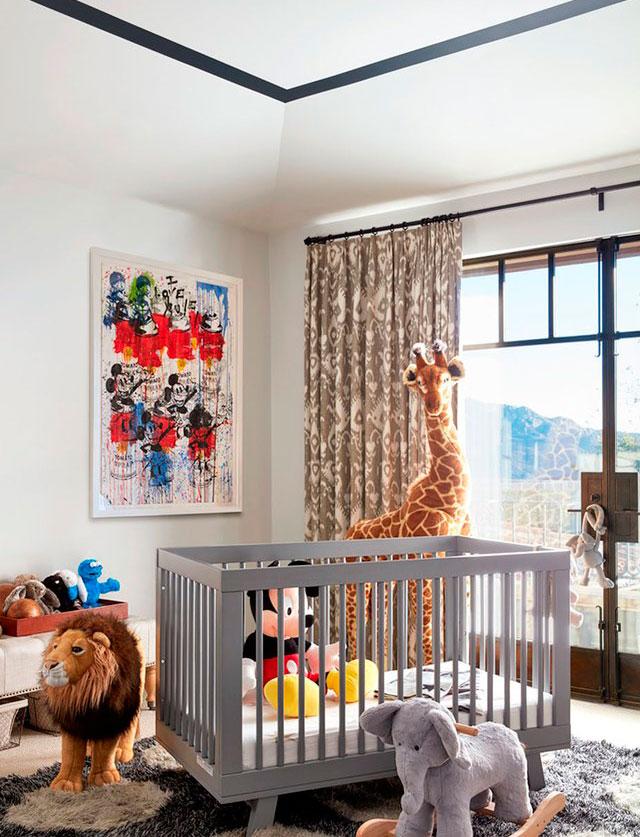 Ni os muebles y decoraci n de habitaciones infantiles for Decoracion casa kim kardashian