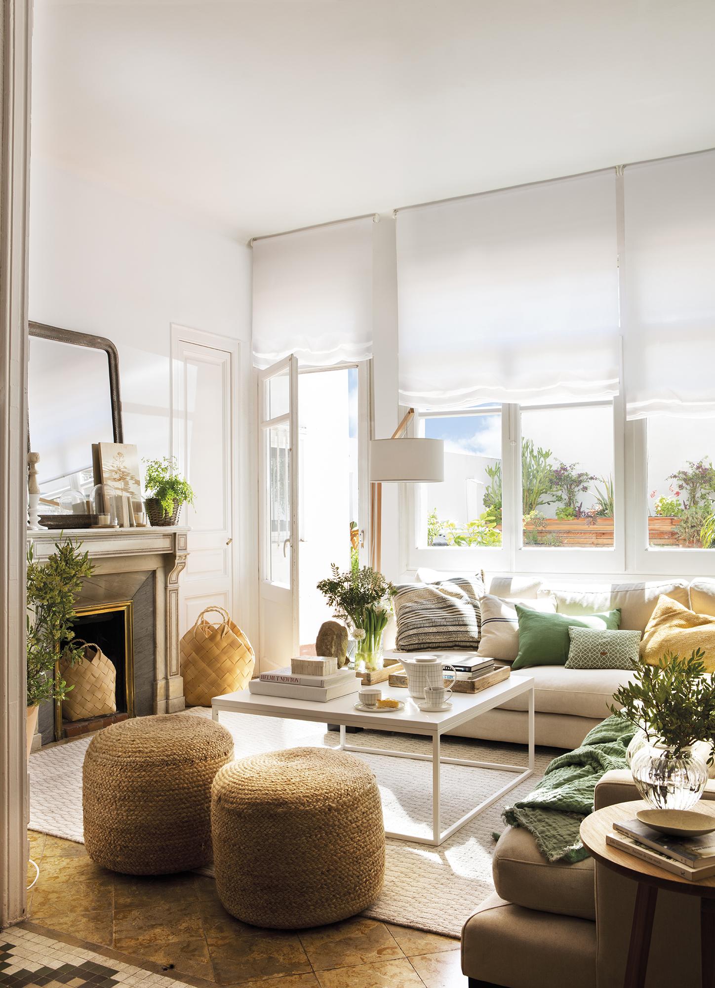 Salones muebles para la decoraci n del sal n comedor el - Como pintar un salon pequeno ...