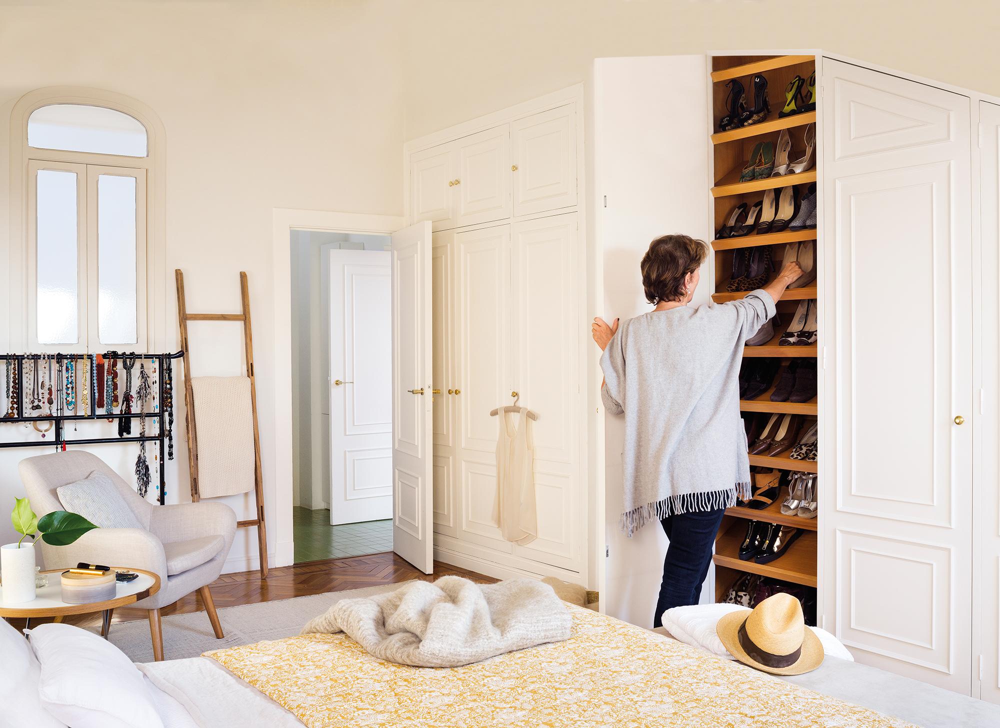Muebles Empotrados Para Dormitorios Top Armario Vestidor  ~ Interiores De Armarios Empotrados Ikea