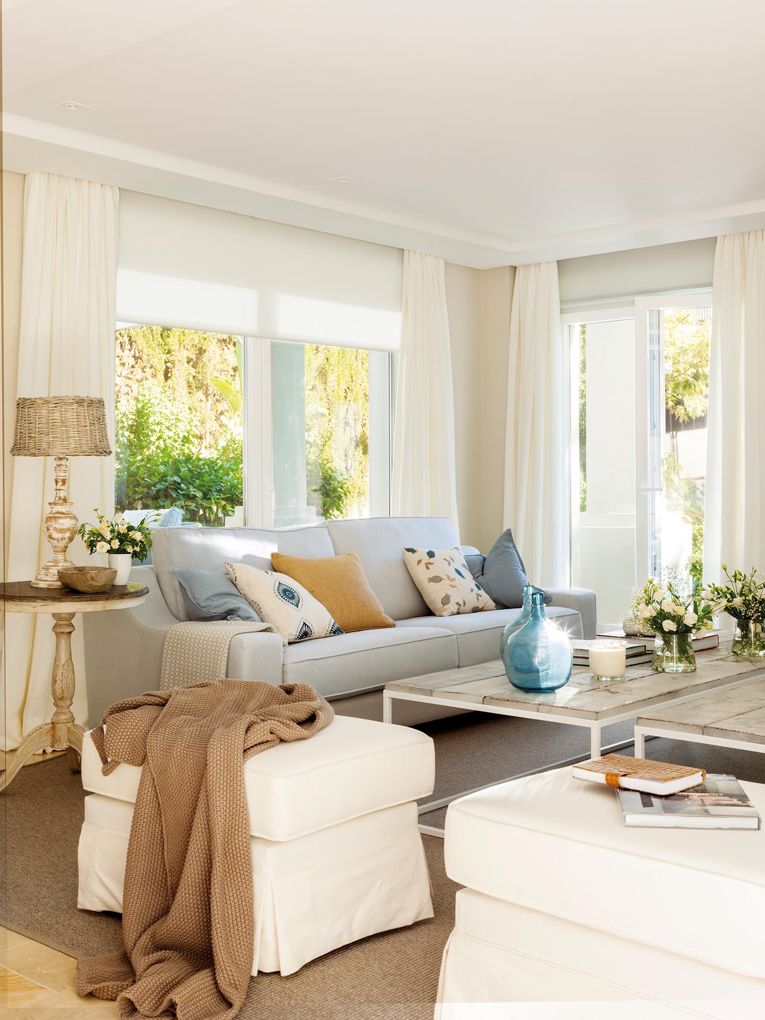 Orden en casa turcos de experto para tener una casa - Salon sofa gris ...