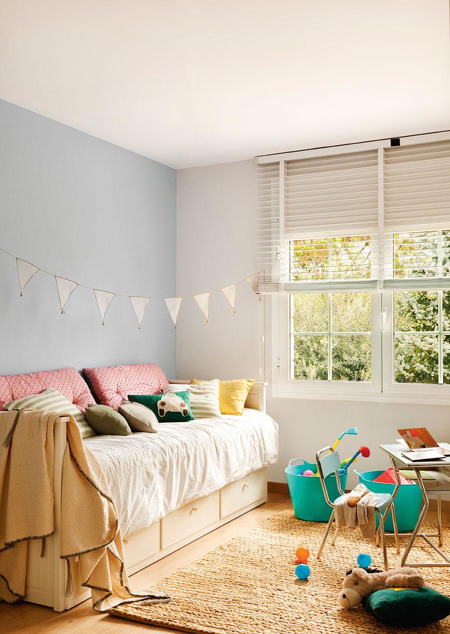 Ideas para pintar la habitaci n de los ni os - Colores para pintar una entrada ...
