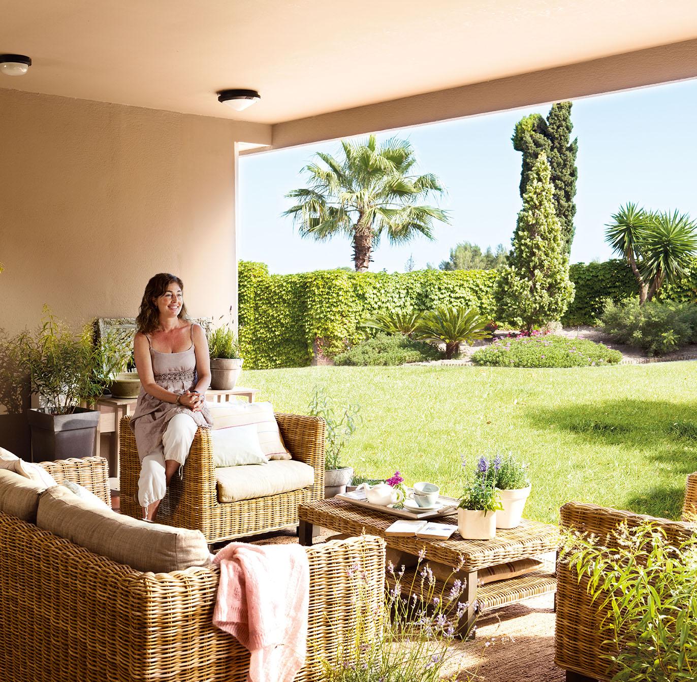Una casa cuidada con mucho mimo - Conillas garden center ...