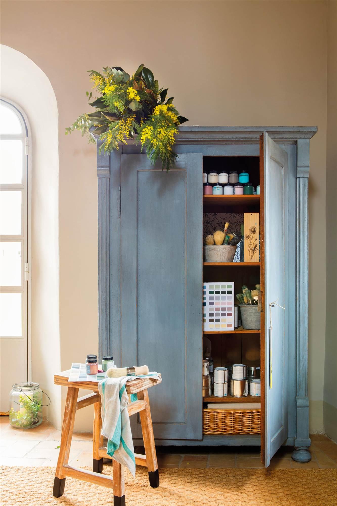 Armarios roperos armarios de cocina y armarios de ba o for Mueble zapatero antiguo