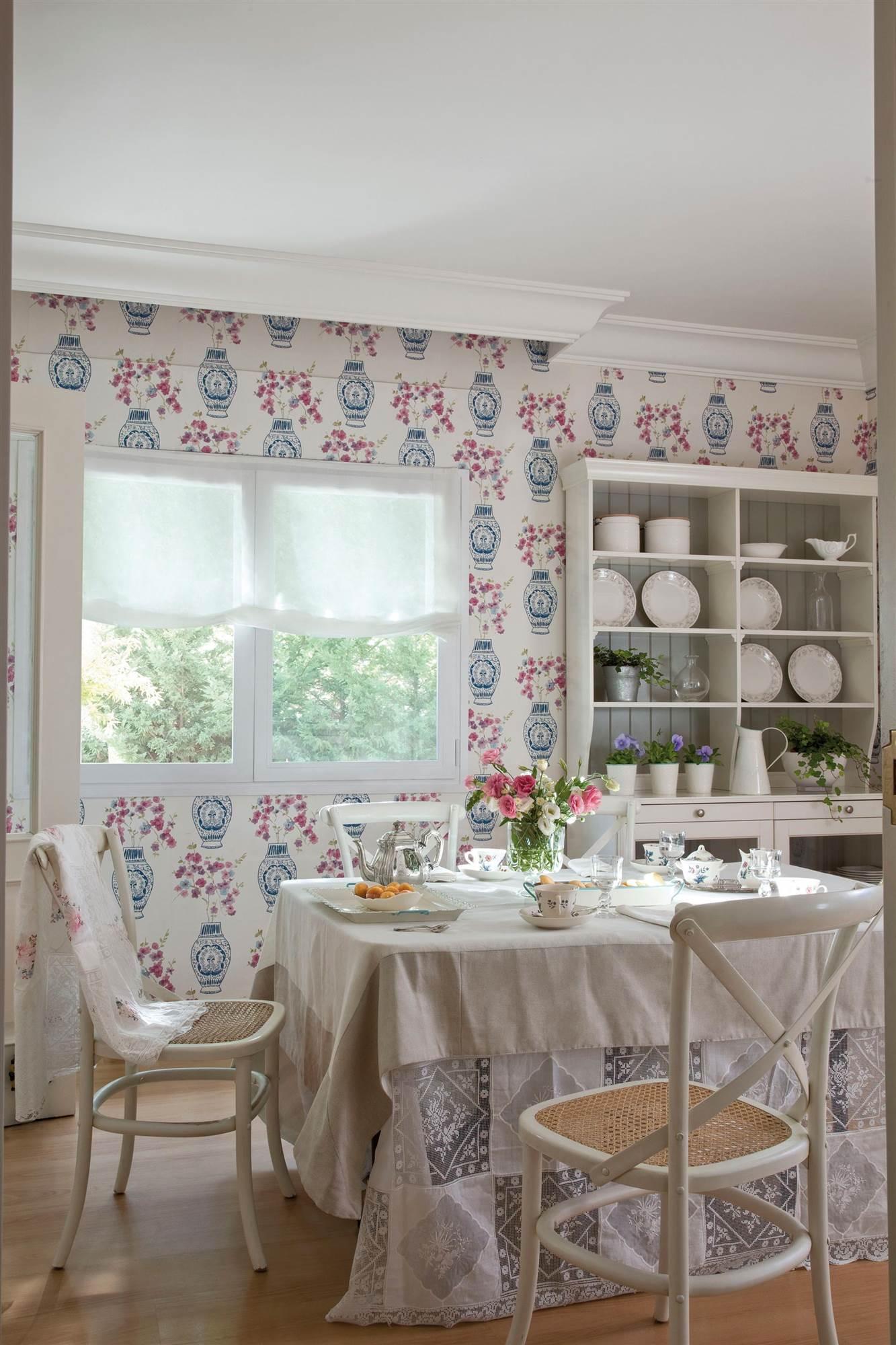 Pintura o papel pintado qu es mejor y pros y contras for Papel pintado vinilico cocina