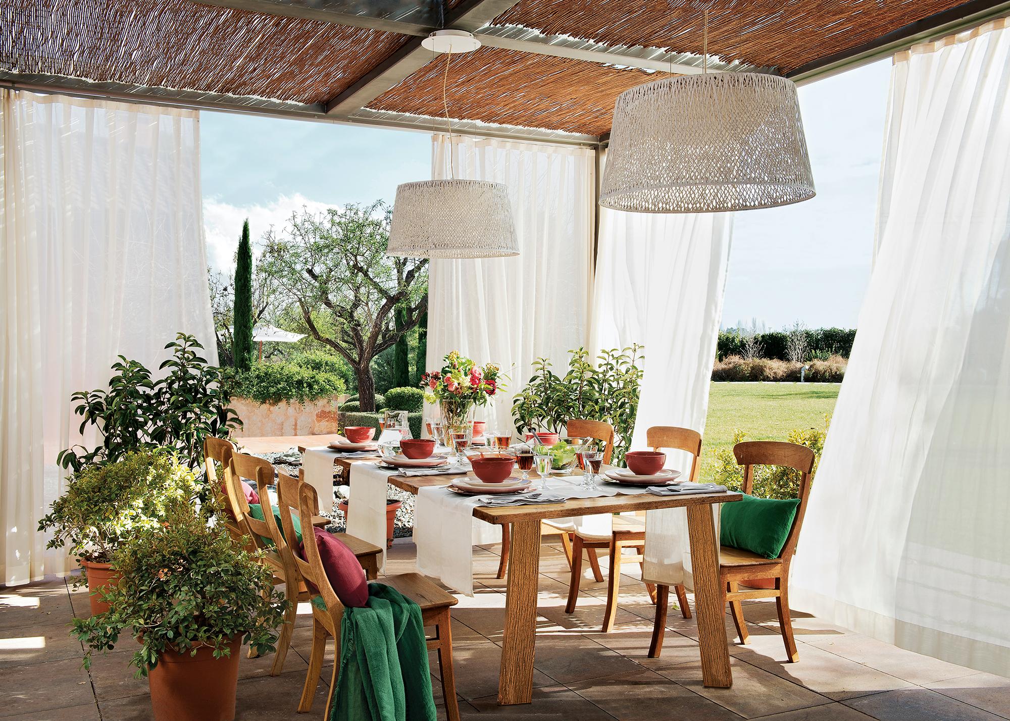 Comedores de exterior: los 50 mejores de El Mueble