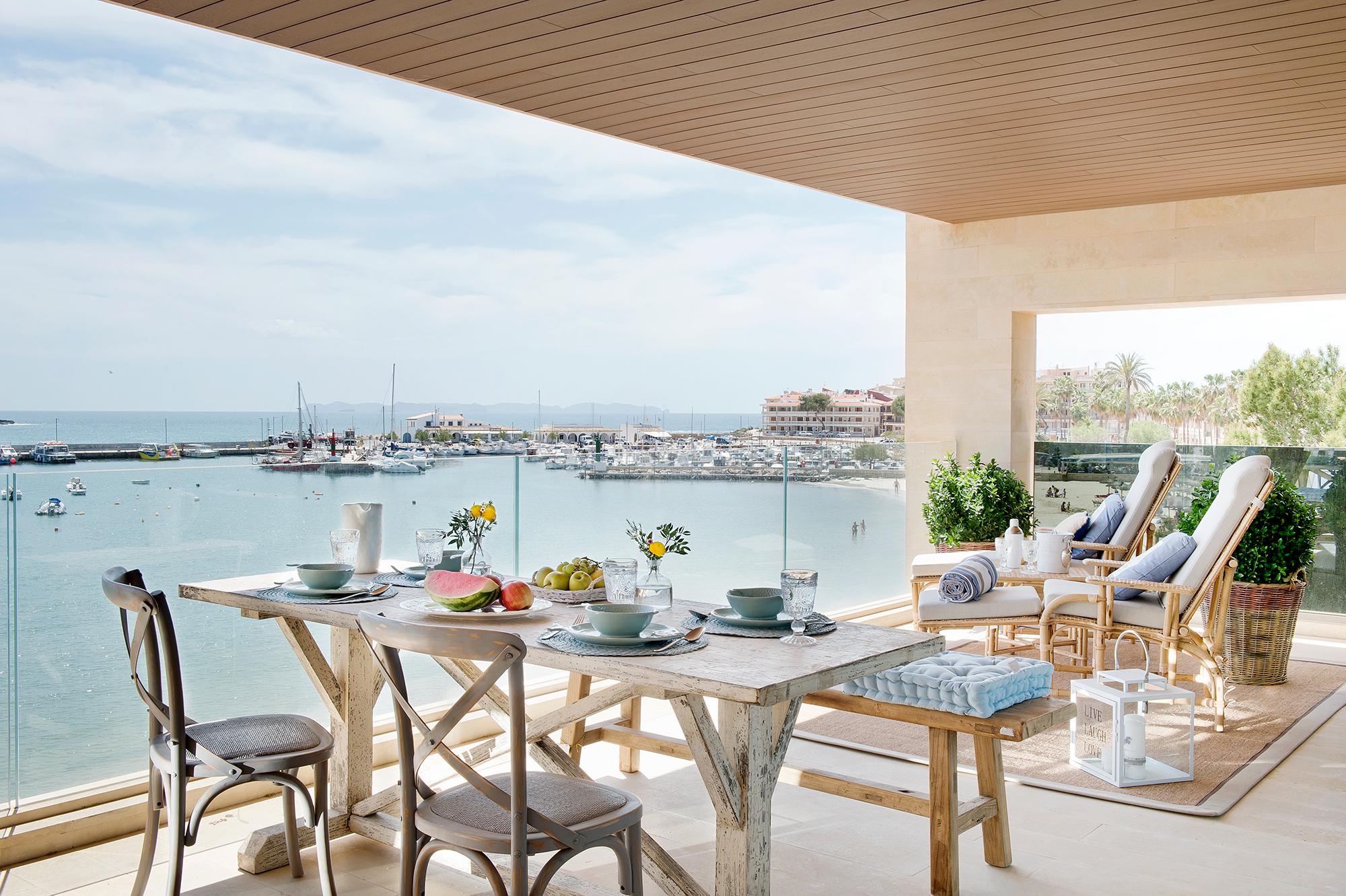 Comedores de exterior los 50 mejores de el mueble - Comedor de exterior ...