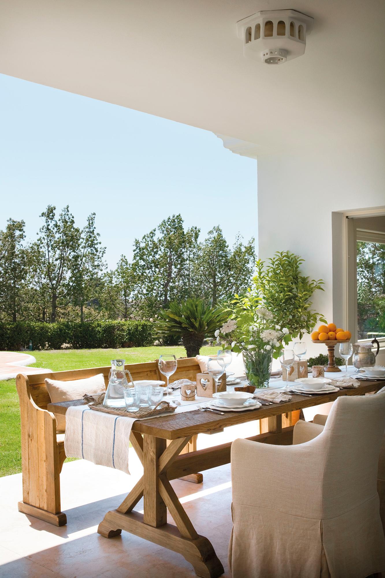 Comedores de exterior los 50 mejores de el mueble for Comedor para jardin