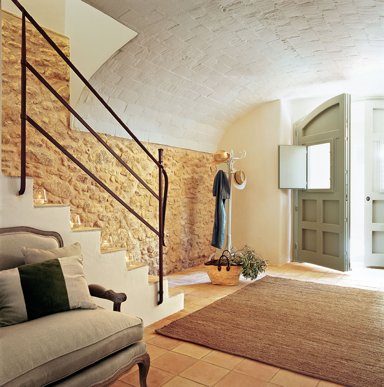 230 fotos de escaleras for Escaleras entrada casa