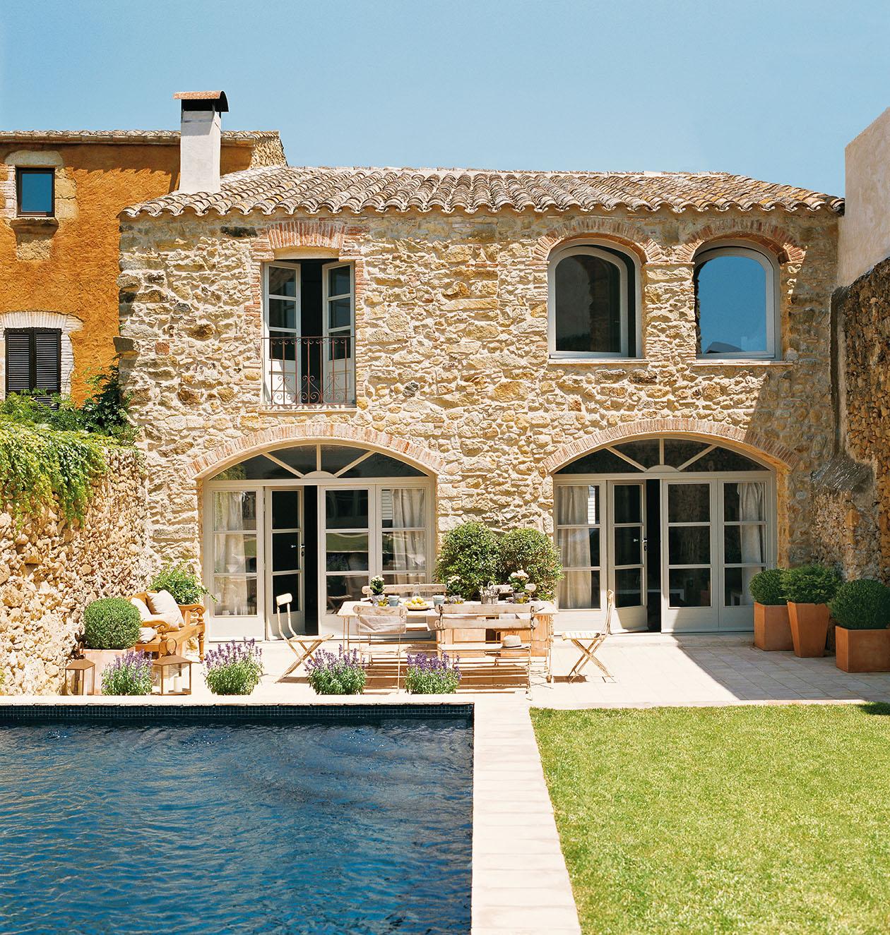 Reforma total de una antigua casa de piedra - Rehabilitacion de casas ...