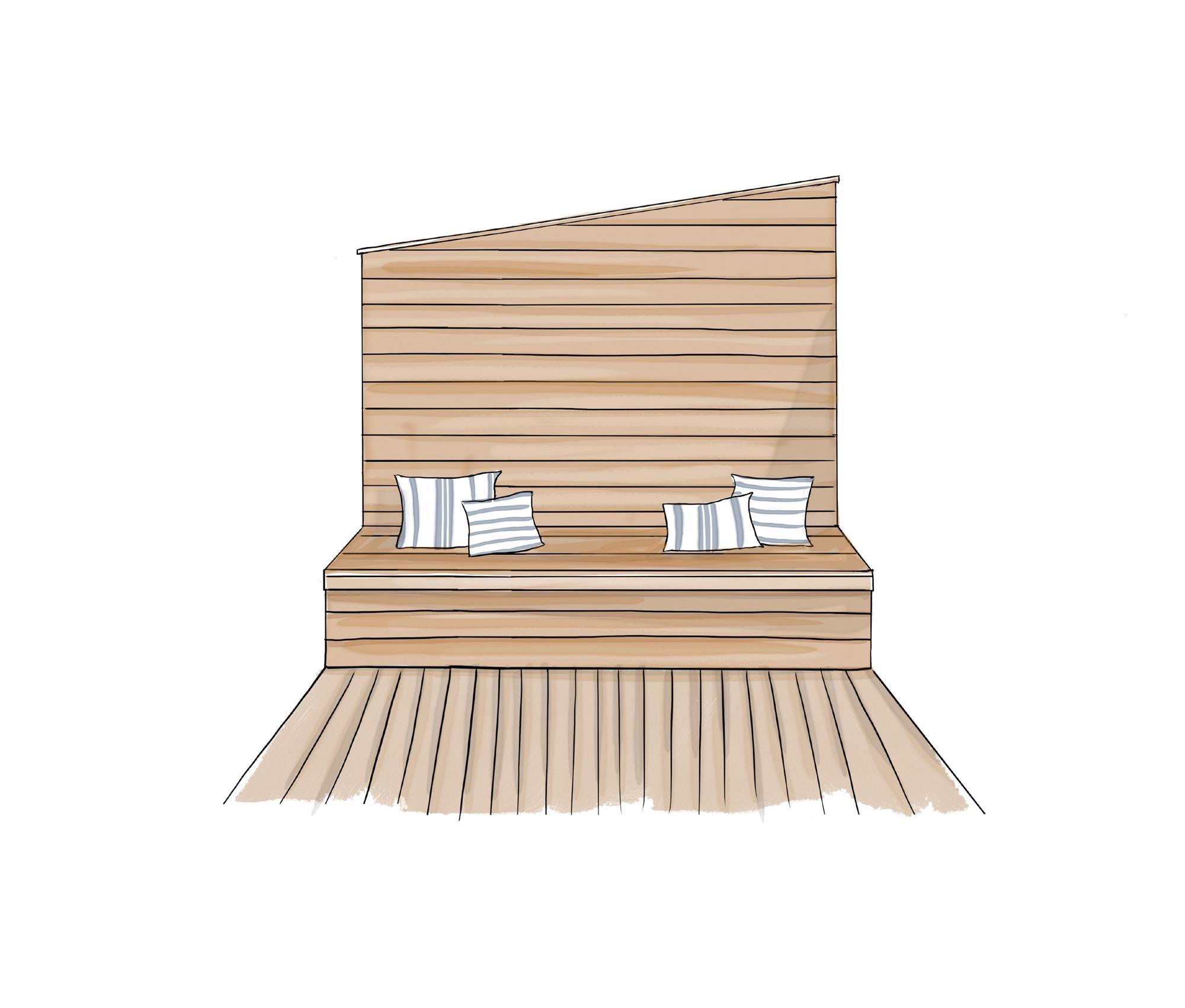 Cinco proyectos de terrazas peque as - Cuanto cuesta tapizar una butaca ...