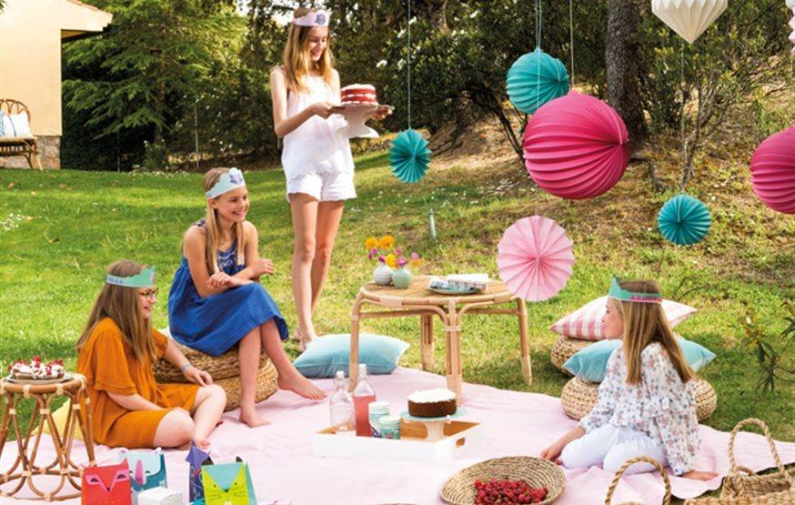 C mo decorar una fiesta infantil - Fiesta en el jardin ...