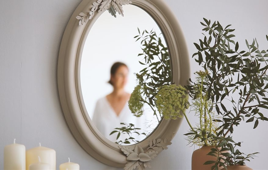 Cómo hacer un espejo vintage DIY